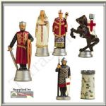 Chess Set Moulds Mould Prince August Lionheart PA711